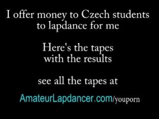 Tattooed czech chick and her superhot lapdance