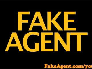 FakeAgent HD Blonde amateur can't wait for anal