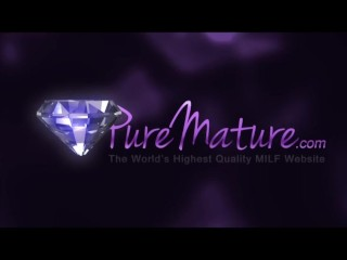 PureMature mature woman surprise sex!
