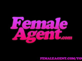 FemaleAgent Shy woman turns into an insatiable lover