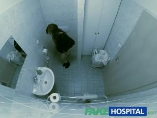 FakeHospital Fit young slim girl loves men in uniform doc cums inside her