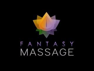 FantasyMassage MEMBER FANTASY Brandi Love lesbian Pussy Massage