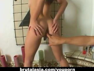 Sensational Japanese girl loves being fucked hard