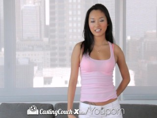 CastingCouch-X - Teen Alina Li s first audition for porn