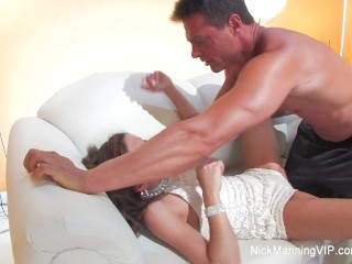Nick Manning fucks a hot brunette