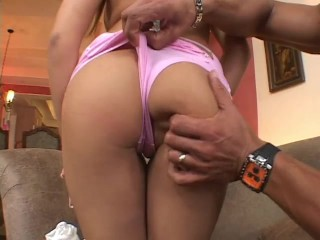 Pigtailed asian whore gets banged out