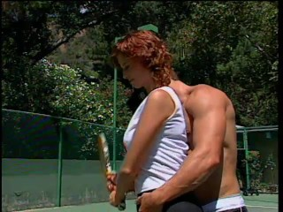 Having sex with her Tennis Partner