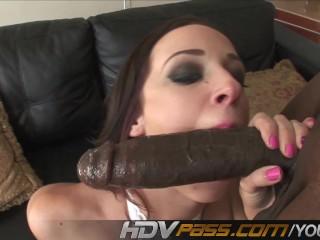 HDVPass Interracial sex with Jada Stevens.