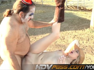 Athena Pleasures Fucked By The Famous Ron Jeremy