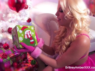 Britney Amber Has A Gift For Her Ass