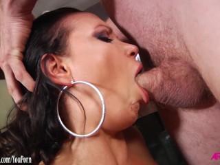 Busty Nikki Benz loving hard anal sex
