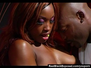 RealBlackExposed - Nika Chanel Shows How to Handle a BBC