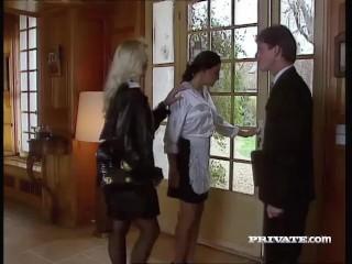 Silvia Saint Fucks the Lawyer and Drains His Cum