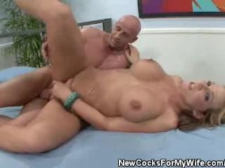 Fucked Wifey Nikki Sexxx Cum Fed