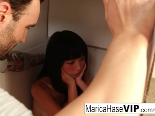Marica Hase Takes A Big Cock