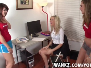 WANKZ- Etreme Makeover Office Edition, a WANKZ TV Parody
