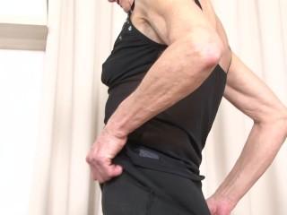 granny interracial dp double-penetration anal double-anal rough black-cock
