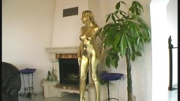 Golden painted Reneta luxuries...