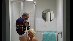 Shower for the cameraman...