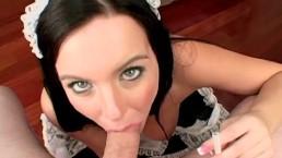 Naughty Maid with Big...