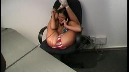 Flexi girl Samantha works...
