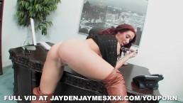 Jayden's Bent Over...