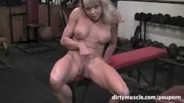 Mandy - Gym Masturbation...