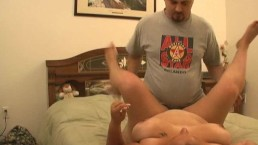 Fat chick fucked...