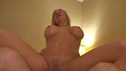 Blonde Sexy Slut Enjoying...