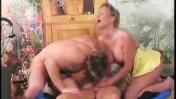 Trampoline Bisex Cock Sucking...