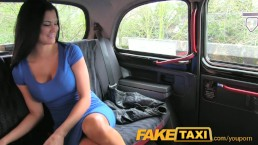 FakeTaxi Sex starved career...