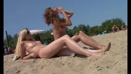 Nudist beach brings the...