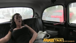 FakeTaxi Busty tits and...