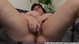 Busty and mature BBW...