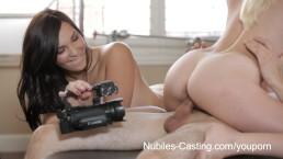 Nubiles Casting - Petite teen...