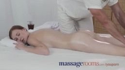 Massage Rooms Freckled redhead...