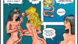 2D Comic: Pleasure Bot...