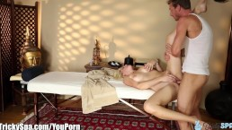 TrickySpa Masseur Gets Dirty...