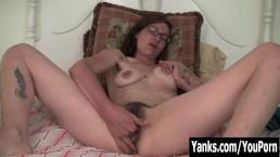 Tattooed Sylvie Masturbating Her...