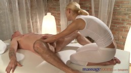 Massage Rooms Blonde masseuse...