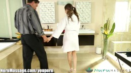 NuruMassage Riley Reid and...