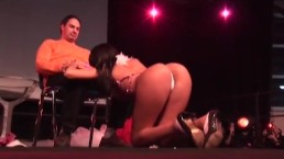 Porn on stage...