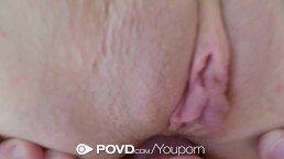 POVD - Pettie blonde Brooke...