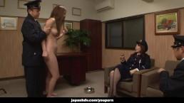 Asian naked prisoner goes...