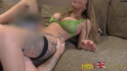 FakeAgentUK MILF with perfect...