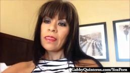Gabby Quinteros Mexican Miniskirt...