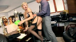 Secretary Donna fucked in...