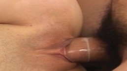 Asian babe getting her...