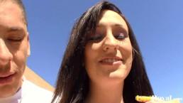 Enjoying a sunny banging...