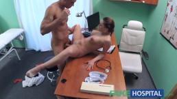 FakeHospital Kinky nurse helps...